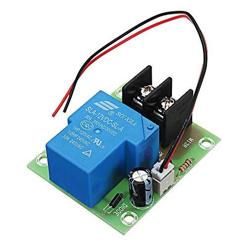 Módulo de relevo ZFX-M138 Salida 30A Interruptor Alta Corriente Adaptador Módulo de relé Junta 12V Interruptor de Entrada de Control 3pcs Kit de componentes electrónicos