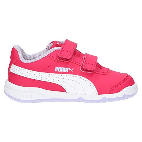 Puma Unisex bebé Stepfleex 2 Sl Ve V Inf Zapatillas, Rosa (Bright Rose White/Purple Heather/Peony 15), 23 EU