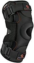 Hinged Knee Brace: Shock Doctor Maximum Support Compression Knee Brace - For ACL/PCL Injuries, Patella Support, Sprains, Hypertension and More for Men and Women - (1 Knee Brace, XXXLarge)