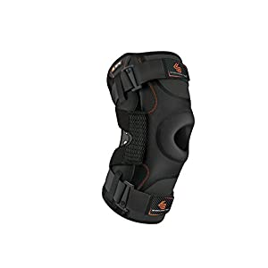Hinged Knee Brace: Shock Doctor Maximum Support Compression Knee Brace – For ACL/PCL Injuries, Patella Support, Sprains, Hypertension and More for Men and Women – (1 Knee Brace)