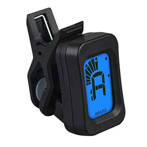 NFYYU Guitar Tuner Clip-on Easy To Use Chromatic Digital Electric Tuner for...