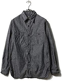 orSlow オアスロウ ブラックシャンブレー ワークシャツ 01-8070 WORK SHIRT (01-8070-61)
