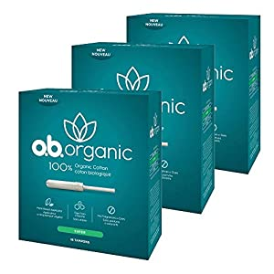 o.b. Organic Tampons with New Plant-Based Applicator*, 100% Organic Cotton Core