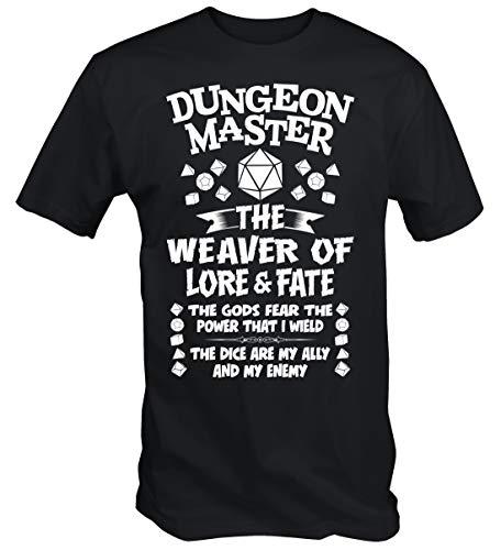 6TN Hombre Camiseta de mazmorra (L)