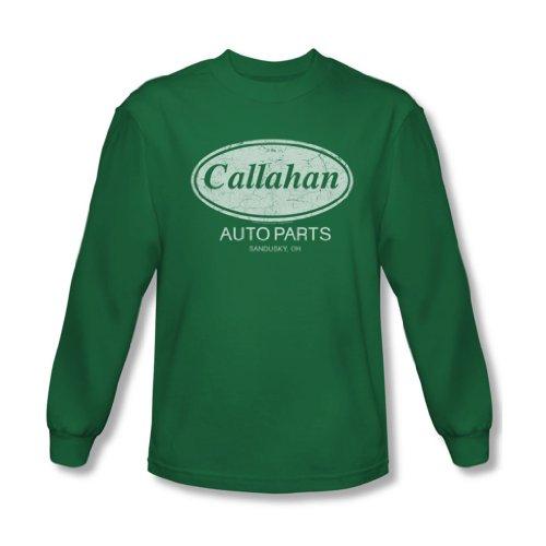 Tommy Boy - - Callahan Auto-shirt à manches longues pour homme en vert de Kelly, Large, Kelly Green