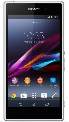 Sony Xperia Z1 Smartphone (5 Zoll (12,7 cm) Touch-Display, 16 GB Speicher, Android 4.2) weiß