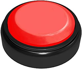 White+Red Neutral Record Talking Button Easy Button Desk Buttons That Make Sounds,Answer Buzzers