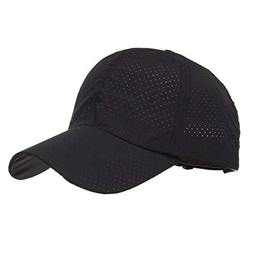 Gorra de Beisbol Sombrero Cap Mujer Gorra Sombrero Moda Mujer Hombre Ajustable Verano Sólido Gorra Ventilación Sombreros Béisbol Sombra