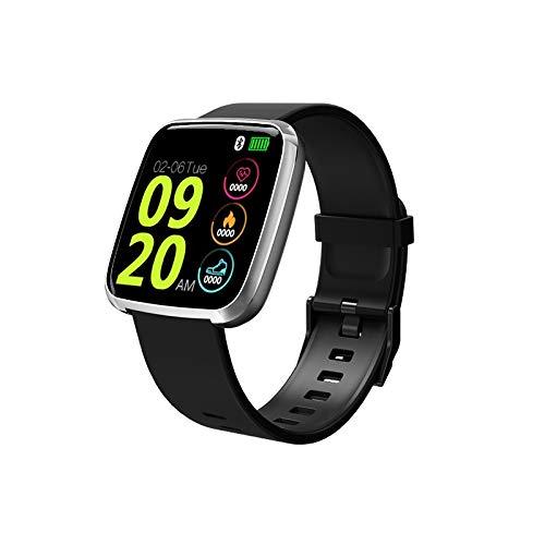 ZYXM Inteligente Reloj Pulsera S7 Impermeable Deportes Deportes podómetro (Unisex Pulsera de Deportes) (Color : Silver 1)