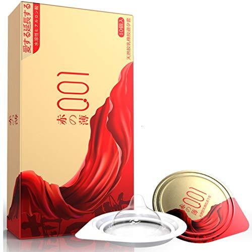 OLO Extra dünne Kondom, hauchzartes Kondom für intensives Empfinden– 10 Stück