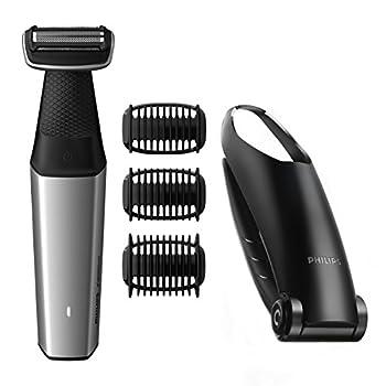 Philips Norelco Bodygroom Series 3500 BG5025/49 Showerproof Lithium-Ion Body Hair Trimmer for Men with Back Shaver