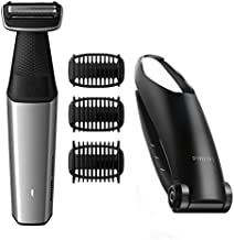 Philips Norelco Bodygroom Series 3500, BG5025/49, Showerproof Lithium-Ion Body Hair Trimmer for Men with Back Shaver