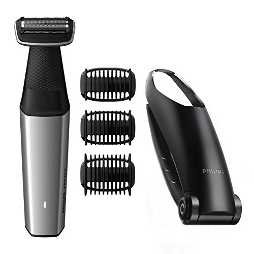 Philips Norelco Bodygroom Series 3500, BG5025/49, Showerproof Lithium-Ion Body Hair Trimmer for Men with Back Shaver