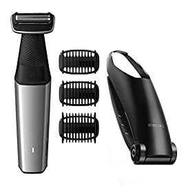 - 41 S662MerL - Philips Norelco Bodygroom BG5025/49 Series 3500, Showerproof Body Hair Trimmer for Men with Back Attachment