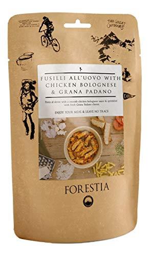 Forestia Eier-Spiralnudeln mit Hühnchen-Bolgonese und Grana Padano, Set:10 Portionen