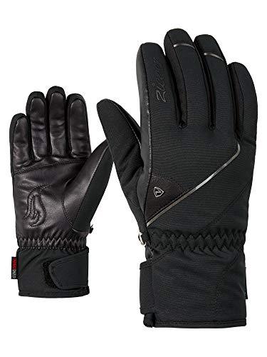 Ziener Damen KAYA AS(R) lady glove Ski-handschuhe, black, 7.5 (M)