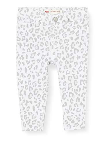 Levi's Kids Baby - Mädchen Jeans Lvg 710 Super Skinny White 9 Monate