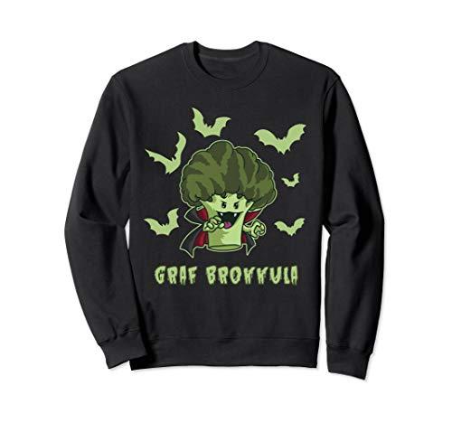 Graf Brokkula - Brokkoli Vampir will deinen grünen Saft Sweatshirt