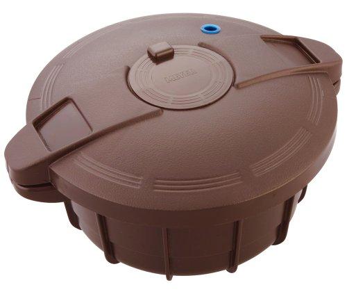 マイヤー 旧タイプ 電子レンジ圧力鍋 ブラウン MPC-2.3BR