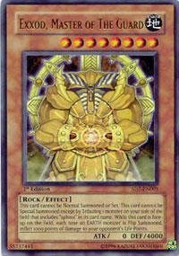 Yu-Gi-Oh! - Exxod, Master of The Guard (SD7-EN001) - Structure Deck 7: Invincible Fortress - 1st Edition - Ultra Rare