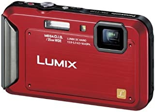 パナソニック デジタルカメラ ルミックス 防水モデル シャイニーレッド DMC-FT20-R