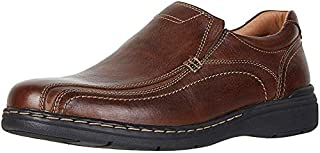 Dockers Mens Mosley Leather Dress Casual Slip-On Shoe
