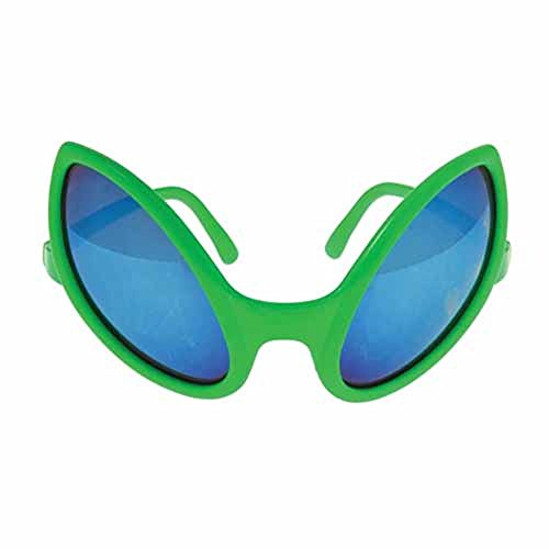 U.S. Toy Alien Glasses 5 1/2 Inch Green Sunglasses - 1 Pack - http://coolthings.us