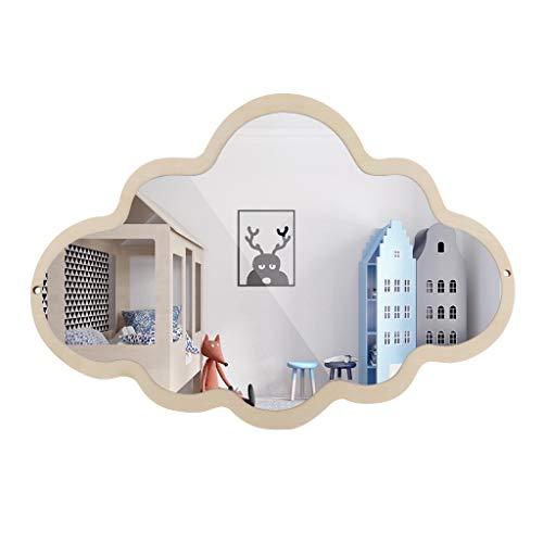 Espejo Colgante de Pared Estilo Nórdico Decoración de Habitación de Niños de Cuarto de Baño - como se Describe, 2