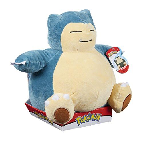 Pokemon 96369 Snorlax Plüschspielzeug, Mehrfarbig, 30,5 cm