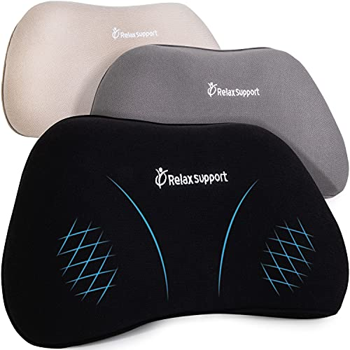 RELAX SUPPORT RS1 Back Support Pillow Lumbar Pillow Upper and Lower Back