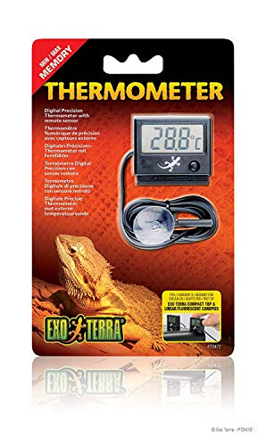 Exo Terra Digital Thermometer with Probe, Celsius and Fahrenheit