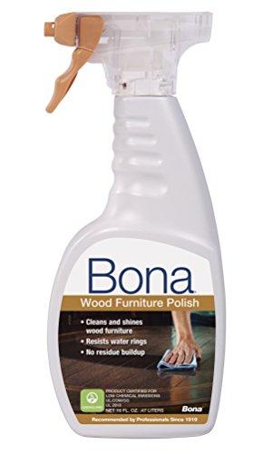Bona WP650052001 16 Ounce Wood Polish Clean & Shine Your Furniture, 16 oz.