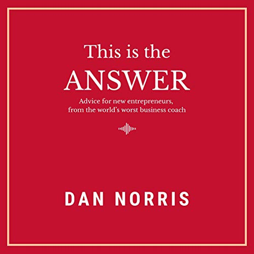 This Is the Answer audiobook cover art