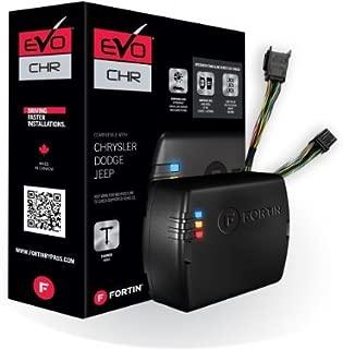 Fortin EVO-CHRT4 Stand-Alone Add-On Remote Start Car Starter System for Chrysler Dodge Jeep Fobik Smart Key Vehicles