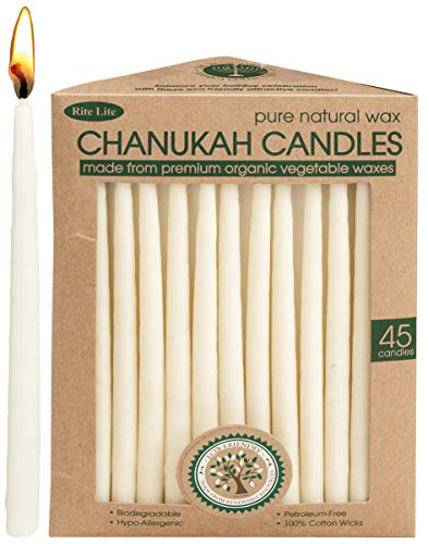 Rite Lite Vegetable Wax Chanukah Candles Hanukkah