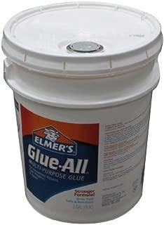ELMERS Glue-All Multi-Purpose Glue, 5 Gallon Pail, White (E1325)