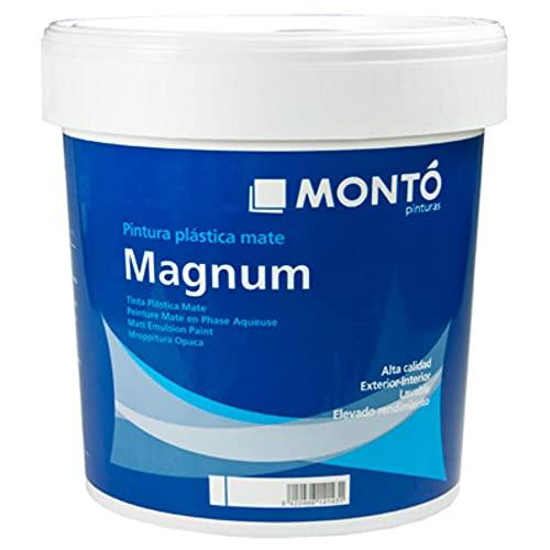 Pintura Aislante Térmica con propiedades Fonoabsorbentes y de Anticondensación. Pintura al Agua Magnum Termoaislante Anticondensación color Blanco (Blanco 103 15L)