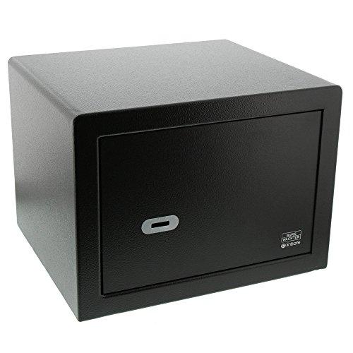 BURG-WÄCHTER Möbeltresor mit Schlüssel, Point-Safe, 20,5 l, 14,5 kg, P 2 S, Schwarz
