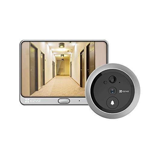EZVIZ DP1C Wi-Fi Videocitofono Videocitofono, Campanello per...