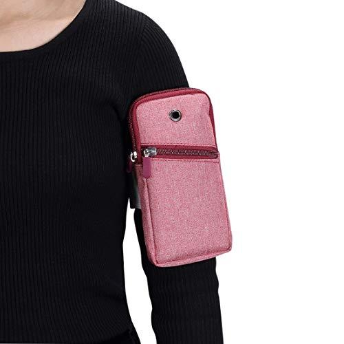 Bolsas de la cubierta del caso Brazalete de correr deportes para iPhone Pro Max, 12, 12Pro, 12 mini, SE2020,11,11 PRO, 11 Pro Max, XS MAX, XS, X, XR, 8 PLUS, 7 PLUS, 6s Plus, Bolsa de brazo ajustable