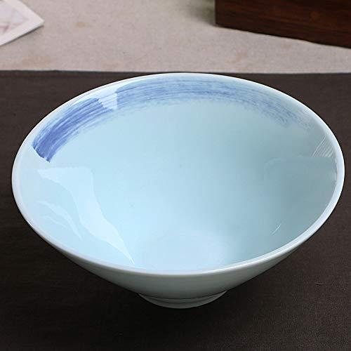 Keramische kom Doujia hoorn kom Ultraviolet porselein kom Japanse noedel kom rijst noedel kom Matcha kom artistiek keramisch servies