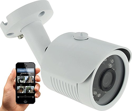 HDView (Serie Económica) 4MP Megapíxeles HD IP Cámara de red WDR 2.8mm Lente Gran Angular Detección de Movimiento Amplio Rango Dinámico IR Corte Filtro Infrarrojo Bullet PoE ONVIF