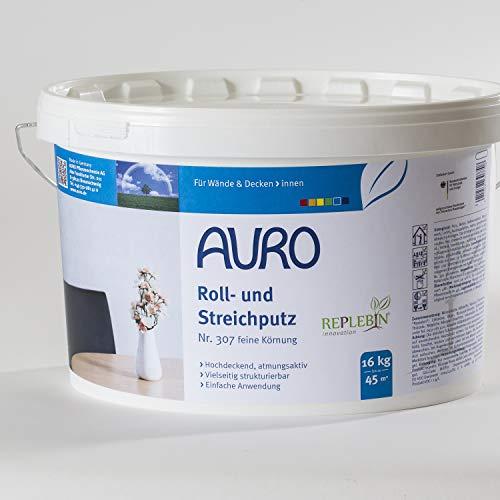 Auro Roll- und Streichputz 16 kg grobe Körnung