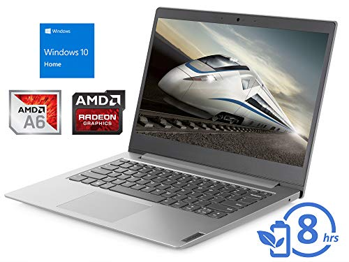 Lenovo IdeaPad S150 (81VS0001US) Laptop, 14' HD Display, AMD A6-9220e Upto 2.4GHz, 4GB RAM, 64GB eMMC, HDMI, Card Reader, Wi-Fi, Bluetooth, Windows 10 Home, Silver