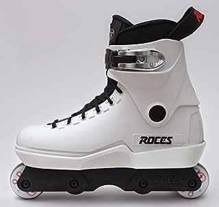 Roces M-12 White Lo Aggressive Inline Complete Skates Size 9