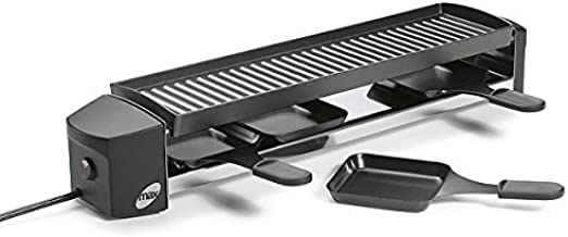Stockli - 0400.02 - Appareil à raclette 4 personnes 680w + gril cheesemax 4