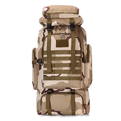LYMHGHJ 75L Mochila Militar Mochila táctica Paquete de Asalto al Aire Libre Senderismo Mochilas de Viaje para Hombres