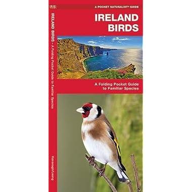 Ireland Birds: A Folding Pocket Guide to Familiar Species (A Pocket Naturalist Guide)