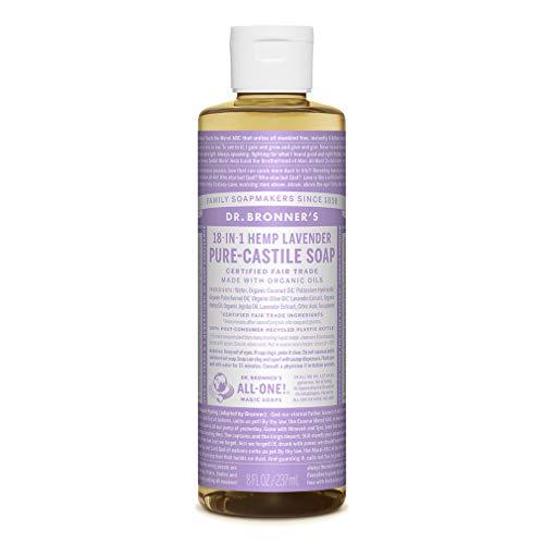 Dr. Bronner's - Liquid Soap Lavendel - Flüssigseife & Duschgel