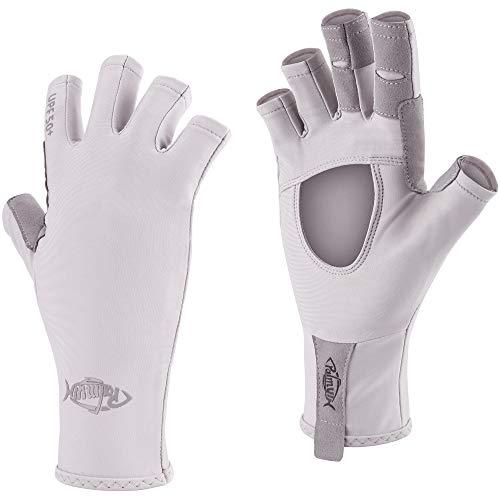 Palmyth UV Protection Fishing Fingerless Gloves UPF50+ Sun Gloves Men Women for...